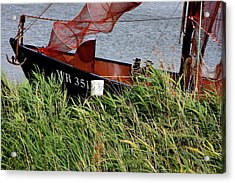 Acrylic Print featuring the photograph Zuiderzee Boat by KG Thienemann