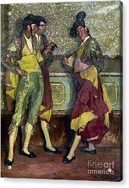 Zuloaga: Bullfighters Acrylic Print by Granger