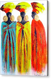 Zulu Ladies Acrylic Print