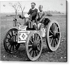 Zulu Motor Cab 1903 Acrylic Print