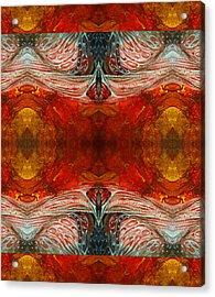 Zulu Acrylic Print by Otto Rapp