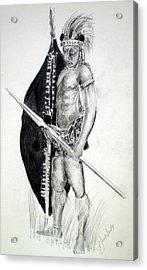 Zulu Roarkes Drift Acrylic Print by Paul Sandilands