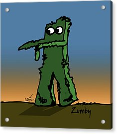 Zumby Acrylic Print