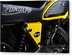 Classic Zundapp Bike Xf-17 Side View Acrylic Print