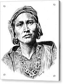 Zuni Governor Acrylic Print