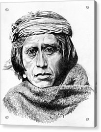 Zuni Man Acrylic Print