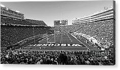 0095 Bw Camp Randall Stadium Acrylic Print