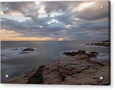 Sunrise On The Costa Brava Acrylic Print