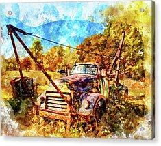 1950 Gmc Truck Acrylic Print