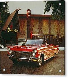 1960 Lincoln Continental Mark V Acrylic Print by Car Culture