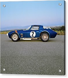 1963 Chevrolet Corvette Grand Sport Acrylic Print by Car Culture