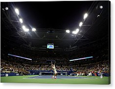 2015 U.s. Open - Day 4 Acrylic Print by Al Bello