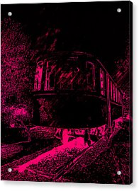 Abandoned Train Acrylic Print
