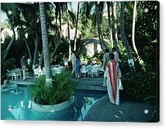 Acapulco Pool Acrylic Print