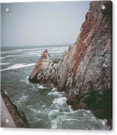 Acapulco Rocks Acrylic Print