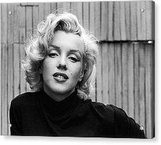 Actress Marilyn Monroe Acrylic Print