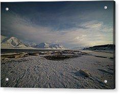 Adventfjorden Acrylic Print