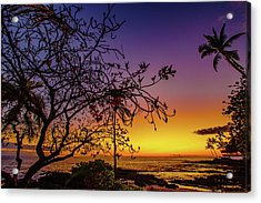 After Sunset Colors Acrylic Print