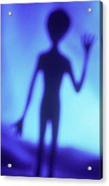 Alien Waving Acrylic Print