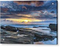 An Atmospheric Coastal Sunrise Acrylic Print