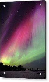 Aurora Borealis Acrylic Print by Eerik