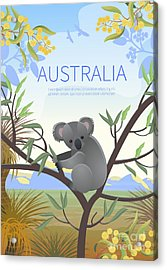Australian Landscape  Poster.  Every Acrylic Print