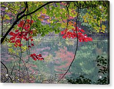 Autumn At Spirit Springs Acrylic Print