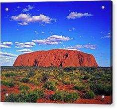 Ayers Rock, Northern Territory Acrylic Print by Hans-peter Merten