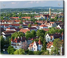 Bamberg In Franconia, A Part Of Bavaria Acrylic Print by Martin Zwick