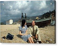 Barcelona,spain Acrylic Print by Michael Ochs Archives