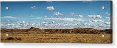 Acrylic Print featuring the photograph Big Basin Panorama by Scott Bean
