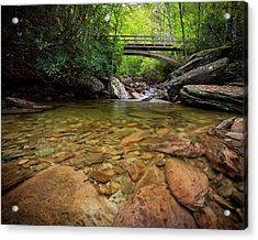 Boone Fork Bridge - Blue Ridge Parkway - North Carolina Acrylic Print