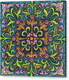 Botanical Mandala 8 Acrylic Print
