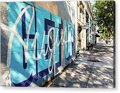 Broad Street Downtown Augusta Ga Acrylic Print