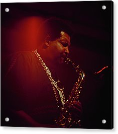 Cannonball Adderley Performs At Newport Acrylic Print by David Redfern