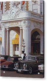 Carlton Hotel Acrylic Print by Slim Aarons