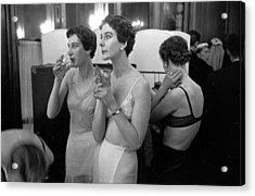 Champagne Break Acrylic Print by Kurt Hutton