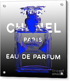 Chanel No 5 - Pop Art Acrylic Print
