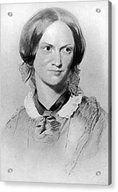 Charlotte Bronte Acrylic Print by Hulton Archive