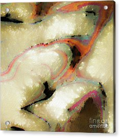 Acrylic Print featuring the painting 1 Corinthians 13 2. Nothing Matters Without Love by Mark Lawrence