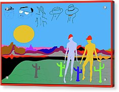 Cover Or Spy 08 Acrylic Print