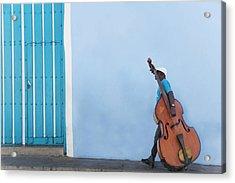 Cuba. Santiago De Cuba. Calle Heredia Acrylic Print by Buena Vista Images