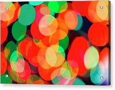 Defocused Lights Acrylic Print by Tetra Images