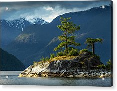 Desolation Sound, Bc, Canada Acrylic Print
