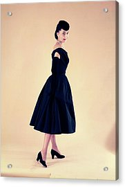 Dior In France In The 1950s - Acrylic Print
