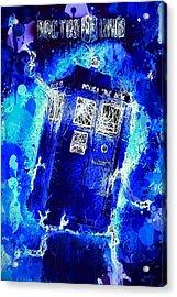 Doctor Who Tardis Acrylic Print