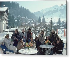 Drinks At Gstaad Acrylic Print