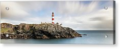 Acrylic Print featuring the photograph Eilean Glas Lighthouse - Western Isles by Grant Glendinning
