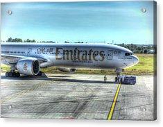 Emirates Boeing 777-300er Acrylic Print
