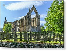 England, North Yorkshire, Wharfedale Acrylic Print by Emily Wilson